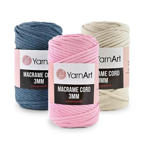 Пряжа Macrame Cord 3 мм