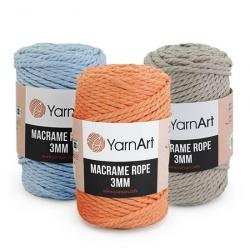Пряжа Macrame Rope 3 мм