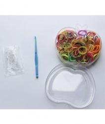 Набор резинок для плетения браслетов Needles Company 1/6 шт