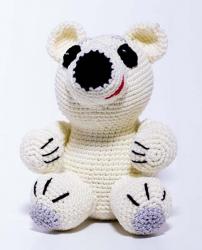 """Набор для вязания amy-05 """"Белый Мишка"""""""