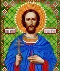 """Набор для вышивания бисером 8819 """"Св. Леонтий"""""""