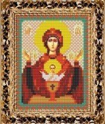 Набор для вышивания бисером ВБ-115 Икона Богородицы «Неупиваемая чаша»