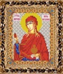 Набор для вышивания бисером ВБ-121 Икона Святой Марии Магдалины