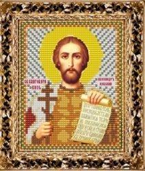 Набор для вышивания бисером ВБ-125 Икона Святого Благоверного Князя Александра Невского