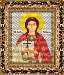 Набор для вышивания бисером ВБ-129 Икона Святой Блаженной Любови