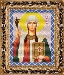 Набор для вышивания бисером ВБ-130 Икона Святой Равноапостольной Нины