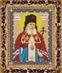 Набор для вышивания бисером ВБ-147 Икона Святителя Луки Войно-Ясенецкого Архиепископа Крымского