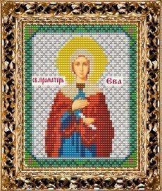 Набор для вышивания бисером ВБ-154 Икона Святой Праматери Евы