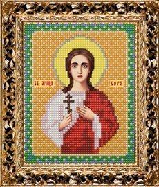 Набор для вышивания бисером ВБ-168 Икона Святой Мученицы Веры