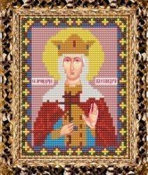 Набор для вышивания бисером ВБ-204 Икона Святой Мученицы Царицы Александры