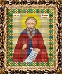 Набор для вышивания бисером ВБ-207 Икона Святого Преподобного Максима Исповедника