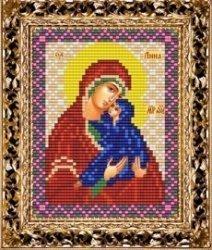 Набор для вышивания бисером ВБ-240 Икона Святой Анны матери Богородицы