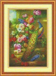 Набор для вышивания нитью мулине 0757
