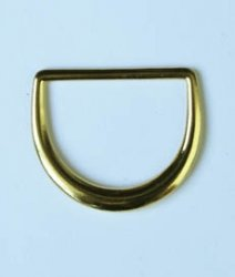 Полукольцо металлическое №5733 золото