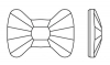 Стразы Qamar Bow 6x4,5 мм 1/240 шт