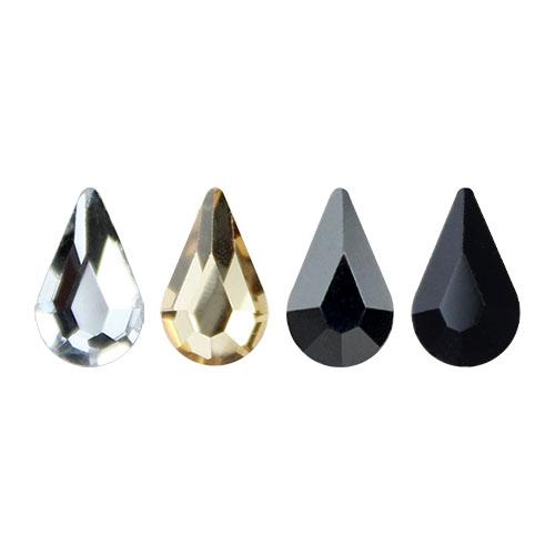 Стразы Qamar Tear Drop 8x4.8 мм 1/360 шт