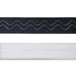 Резинка для бюстгалтера (с силиконом) 2 см 1/10 м