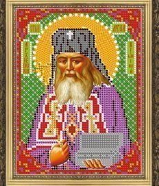 """Рисунок на ткани для вышивания бисером 417М """"Св. Лука Крымский"""""""