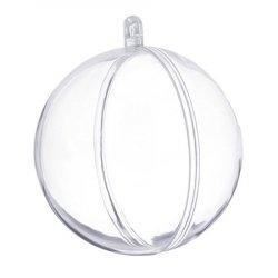 Шар для декора пластик 14 см