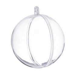 Шар для декора пластик 8 см