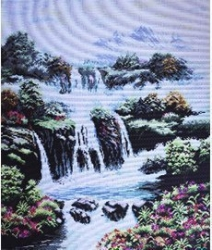 Схема для вышивания нитью мулине 0325