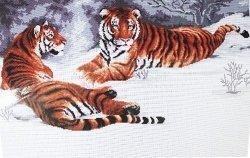 Схема для вышивания нитью мулине 0123