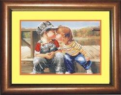 """Набор для вышивания бисером СВБ-8027 """"Любовь детства"""""""