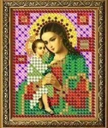 """Рисунок на ткани для вышивания бисером 369Л """"Прсв. Богородица Взыскание погибших"""""""