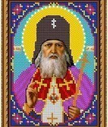 Pисунок на ткани для вышивания бисером 448М «Св. Лука Крымский»