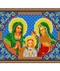Pисунок на ткани для вышивания бисером 449М «Св. Иоаким и Анна»