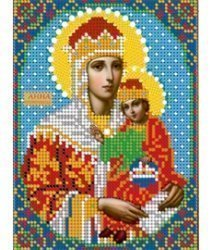 Pисунок на ткани для вышивания бисером 687М «Св. Анна Пророчница»