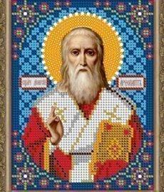 """Рисунок на ткани для вышивания бисером 796М """"Св. Дионисий"""""""