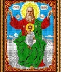 Pисунок на ткани для вышивания бисером 841М «Св. «Господь Саваоф»