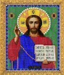 """Рисунок на ткани для вышивания бисером Бис 363 """"Иисус"""""""