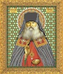 """Рисунок на ткани для вышивания бисером Бис 793 """"Св. Гавриил"""""""