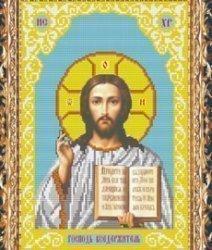 """Схема на ткани для вышивания бисером СВБ-3057 """"Иисус Христос"""""""