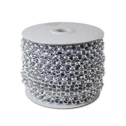 Цепь металл 6 мм серебро 7.0BL (20м.)