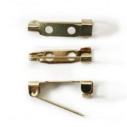 Заготовка-булавка (золото) DY-08 2 см