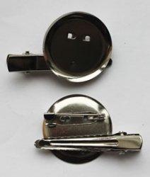 Заготовка-булавка+зажим DY-01 3 см